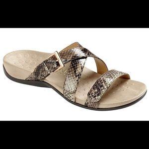 VIONIC Kira triple strap slide sandal COMFORT Shoe